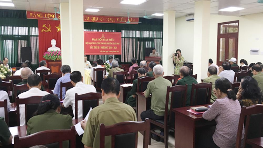 Đại hội đại biểu Hội nạn nhân chất độc da cam/dioxin phường Trần Phú