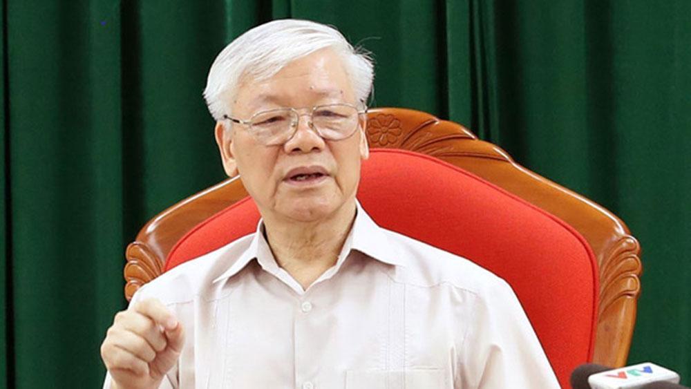 Bài viết của Tổng Bí thư Nguyễn Phú Trọng, Đại hội Đảng bộ các cấp, Đại hội Đại biểu toàn quốc lần thứ XIII của Đảng