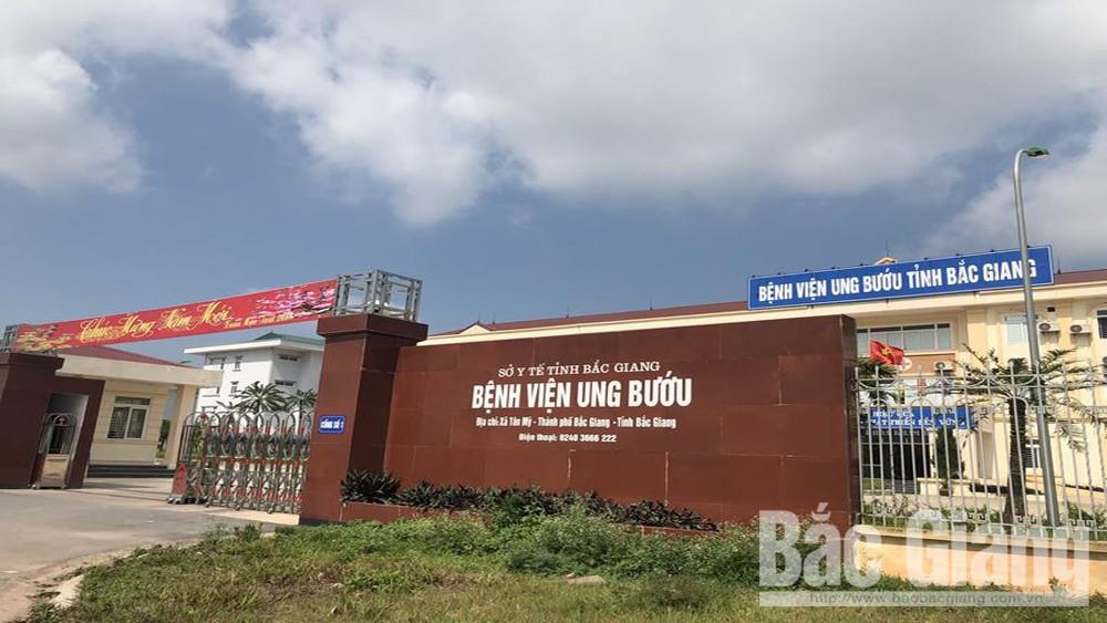 tranh giành địa điểm bán nước, chém người, cố ý gây thương tích, Bệnh viện ung bướu tỉnh Bắc Giang