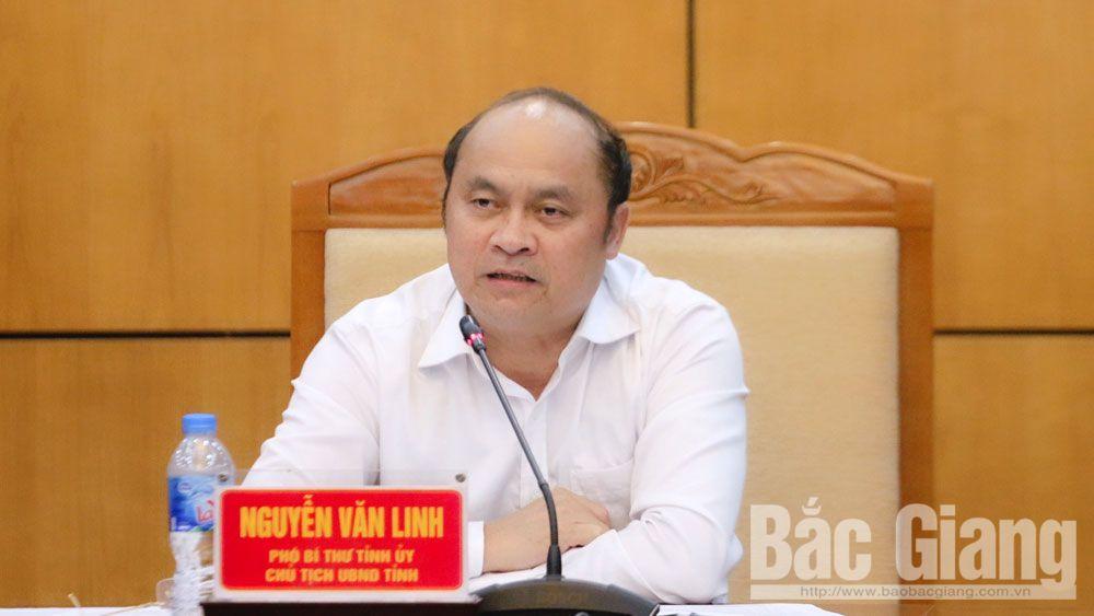 Chính trị, UBND tỉnh, giao ban, Chủ tịch, Nguyễn Văn Linh