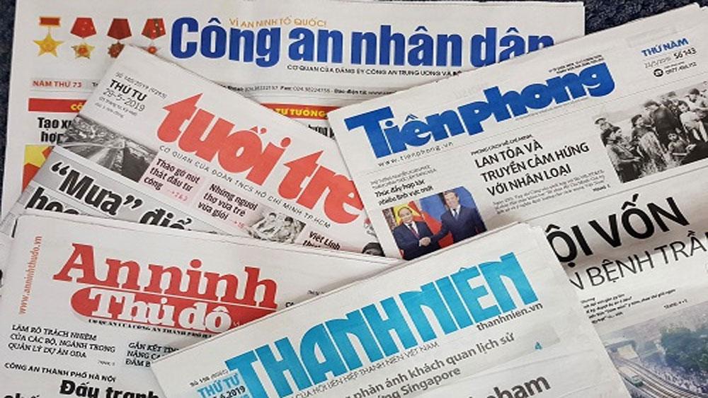 Bộ Thông tin và Truyền thông, ban hành, kế hoạch sắp xếp cơ quan báo chí, Quy hoạch phát triển và quản lý báo chí toàn quốc đến năm 2025