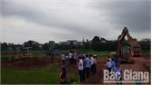 TP Bắc Giang cưỡng chế thu hồi đất tại phường Xương Giang