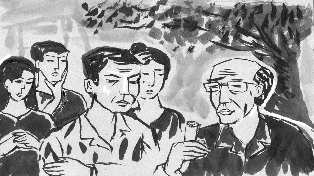 Truyện ngắn, văn học, Bắc Giang, bìm bìn  nở muộn, hạnh phúc giản dị, Quả ngọt của người thầy