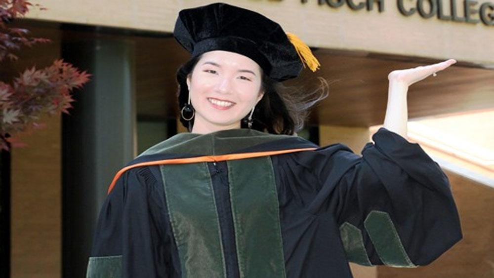 Cô gái Quy Nhơn, tốt nghiệp thủ khoa ở đại học Mỹ,  Nguyễn Thị Hồng Ngọc,