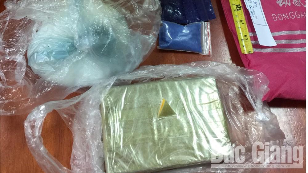 Công an tỉnh Bắc Giang, bệnh AIDS, Hoàng Quốc Tú, Vận chuyển ma túy trái phép, ma túy
