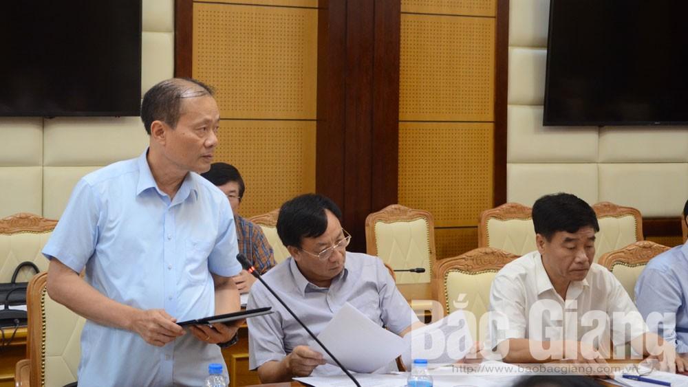 Thường trực Tỉnh ủy, đánh giá kết quả, thí điểm, Bí thư-Chủ tịch huyện, Việt Yên.