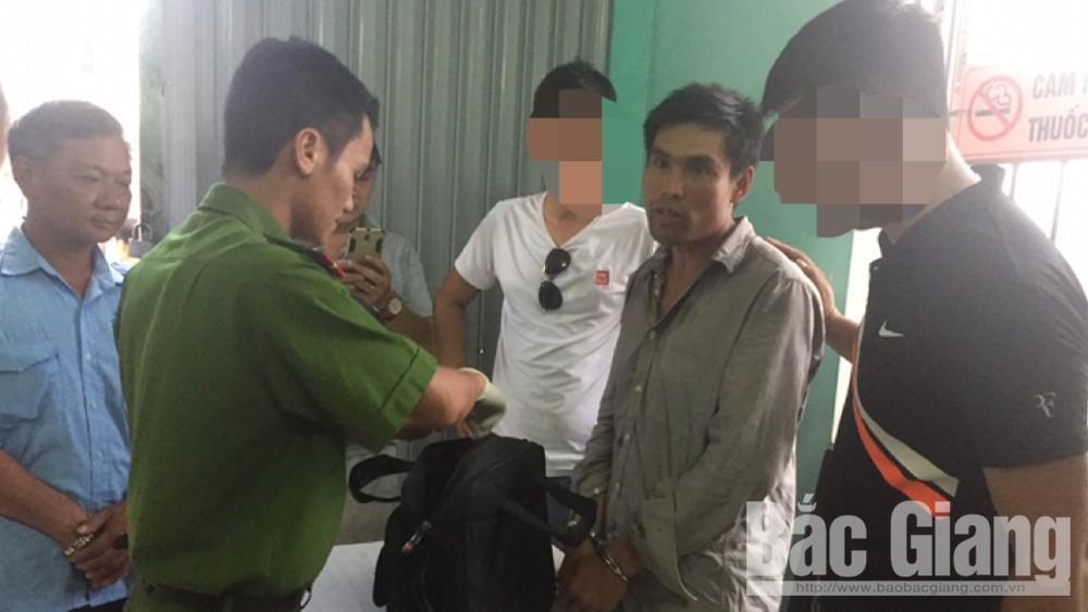 Công an tỉnh Bắc Giang, Bắt đối tượng xách 8 bánh heroin, Ma túy, Sơn La, Cảnh sát điều tra về ma túy