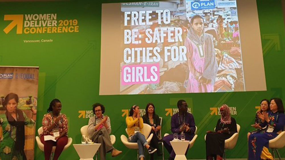 Vietnam, Women Deliver 2019, Canada, humanitarian organisation, children's rights, equality for girls, world's largest conference