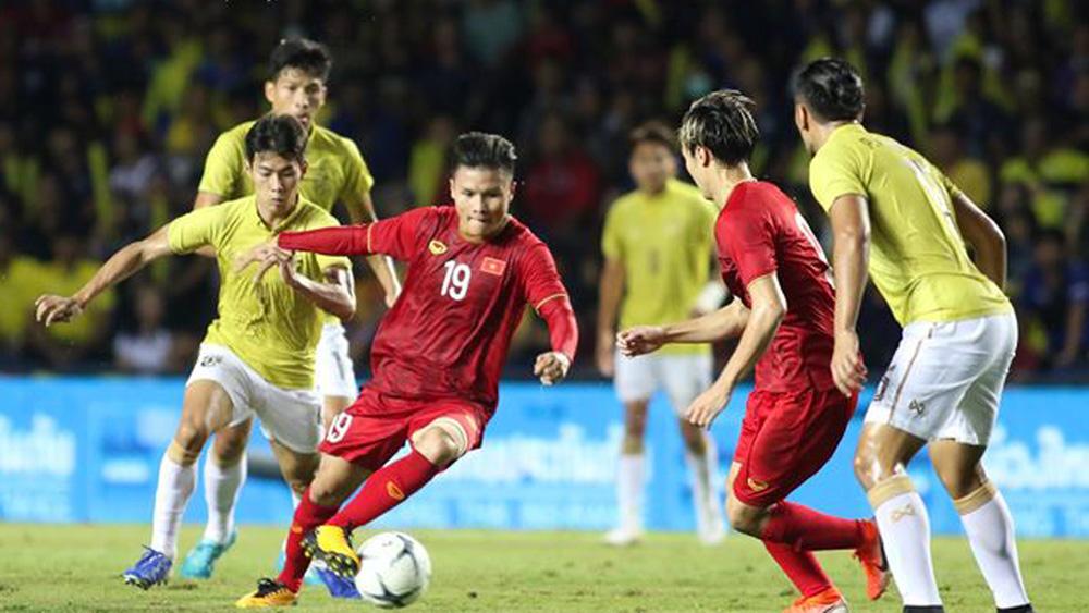 BLV Vũ Quang Huy,  Quang Hải, tuyển Việt Nam, Park Hang Seo, King's Cup 2019