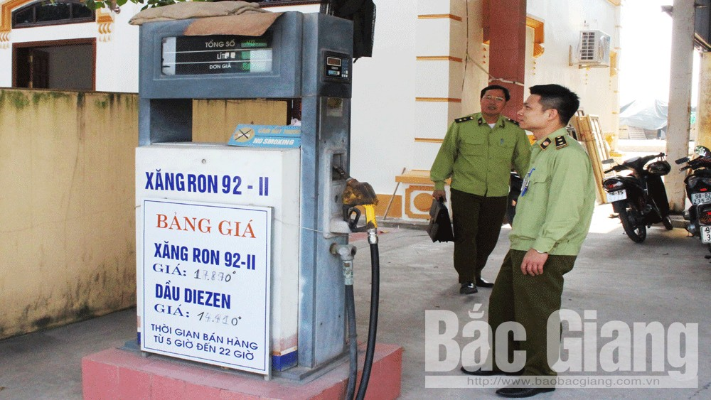 Bắc Giang: Chưa phát hiện xăng dầu giả