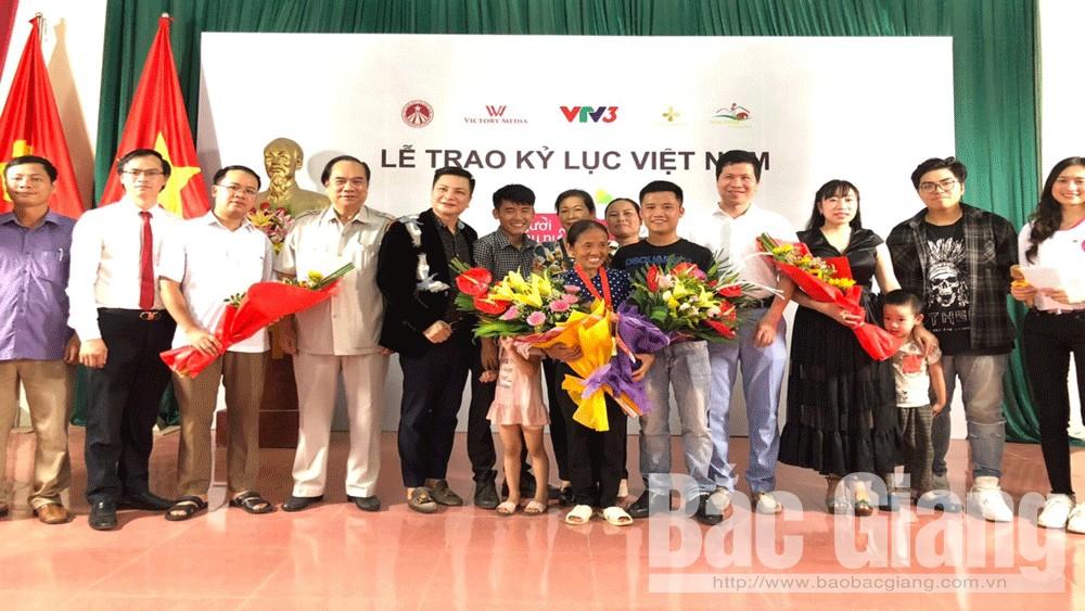 Bà Tân Vlog, xuân hương, lạng giang, kỷ lục Việt Nam