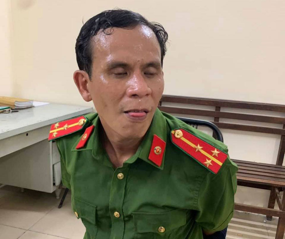 Nguời đàn ông giả danh thượng uý Công an, chuyên trộm xe, siêu thị TP Hồ Chí Minh, Trương Nguyễn Gia Bảo