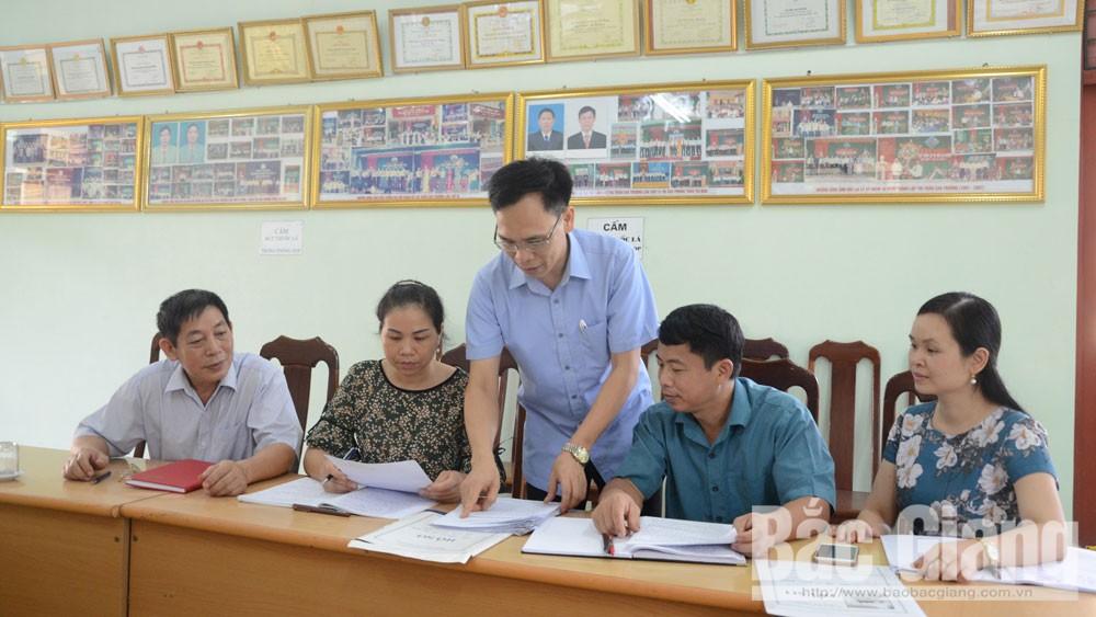 Tân Yên, Bắc Giang, ủy ban kiểm tra, tổ chức đảng, đảng viên, kỷ luật Đảng