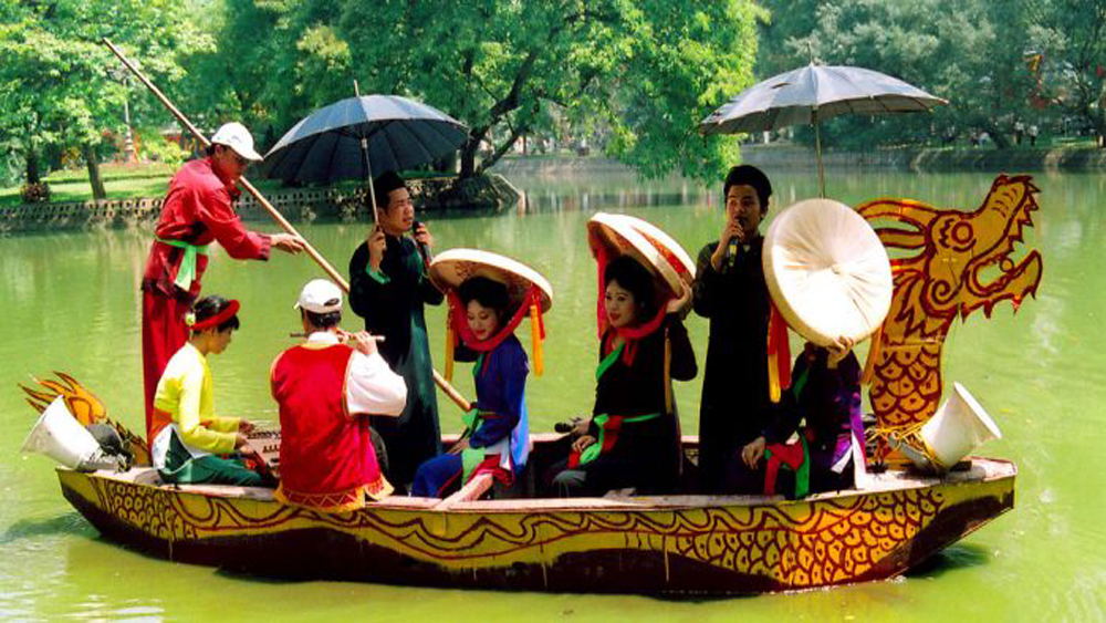 humanity's intangible cultural heritage, Nha Trang city,  sea-island tourism, stunning natural landscapes, UNESCO-recognised heritage