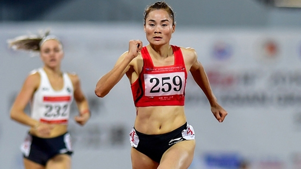 Vietnamese runner bags double golds at Asian Grand Prix Series 2019
