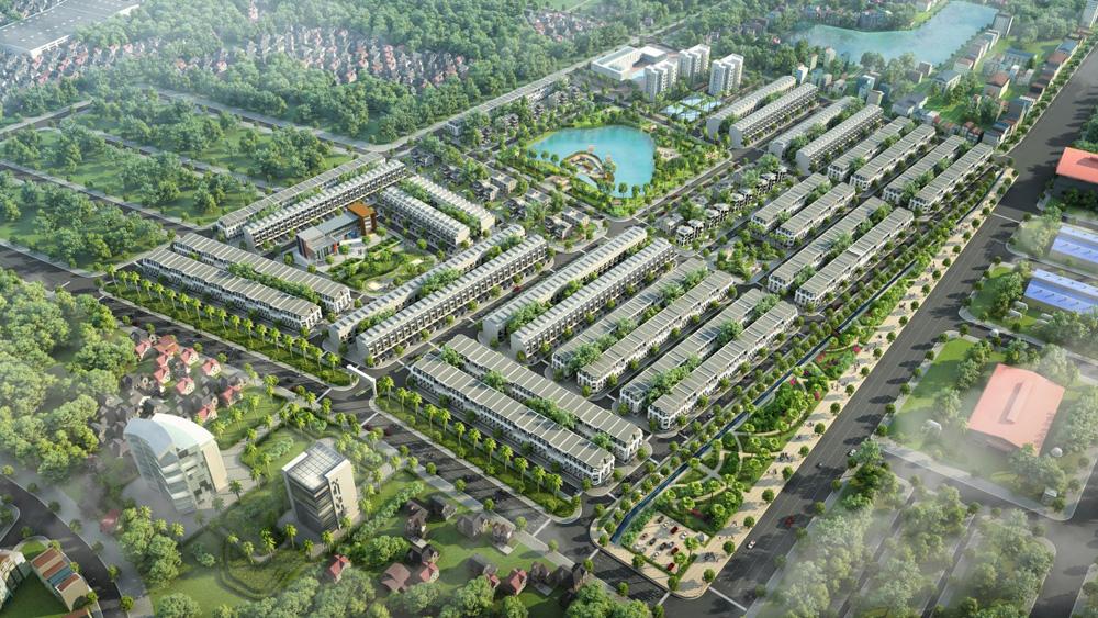 Điểm nhấn bất động sản, KOSY Group, Bắc Giang, khu đô thị KOSY Bắc Giang, hấp dẫn nhà đất