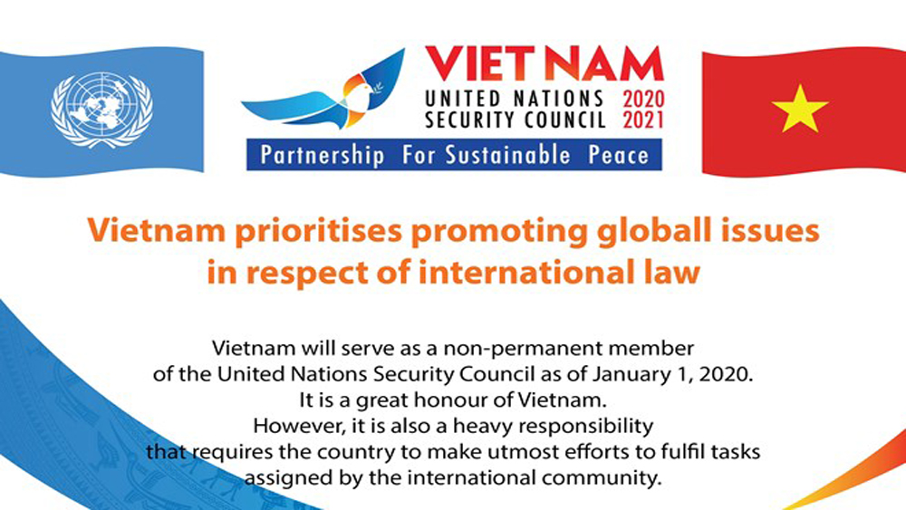 Vietnam prioritises global issues in respect of international law