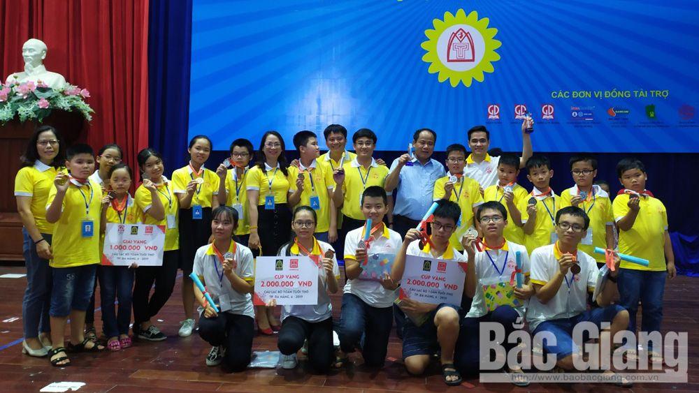 giáo dục, huy chương vàng, toán tuổi thơ, TP Bắc Giang, Toán Tuổi thơ toàn quốc