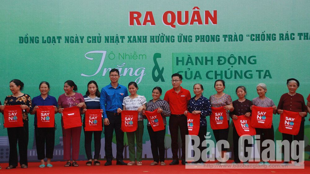 Bac Giang launches Green Sunday campaign