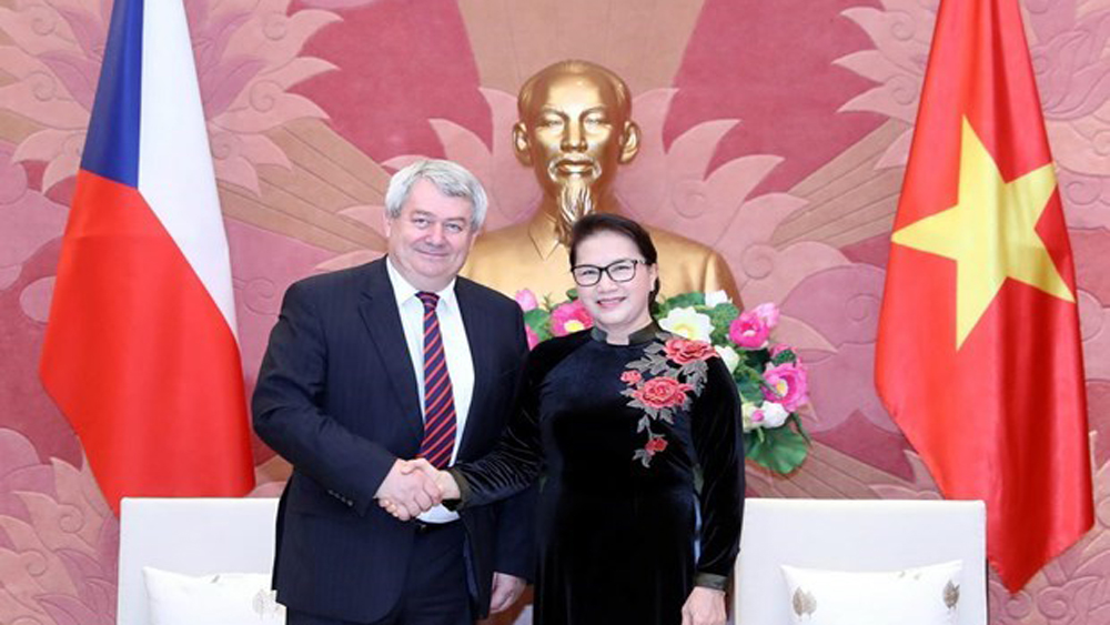 Top legislator greets Vice Chairman of Czech lower house