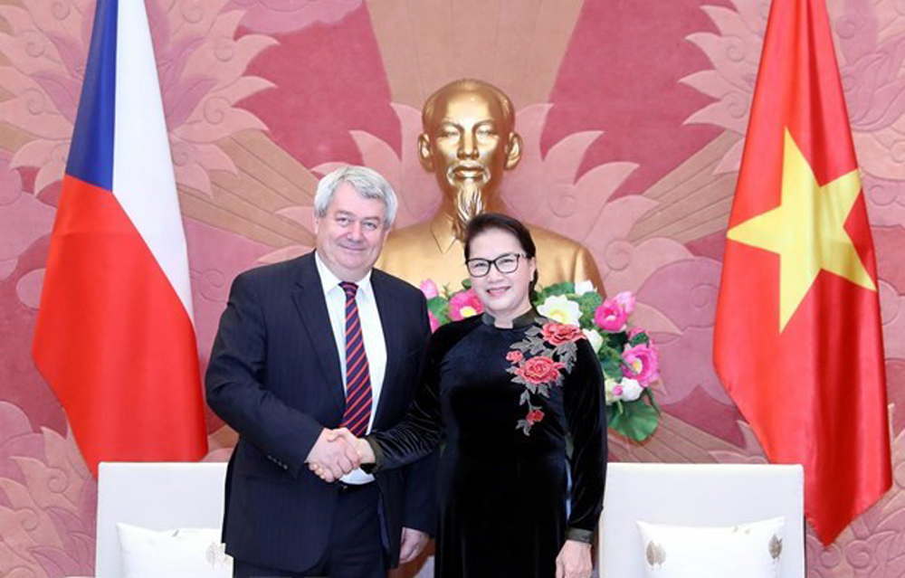 Top legislator, Nguyen Thi Kim Ngan, Vice Chairman, Czech lower house, sound friendship, traditional cooperation, people-to-people exchange activities