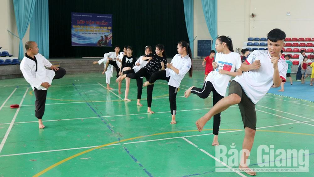 Lục Nam, Bắc Giang,  dịp hè, điểm đến hấp dẫn, Cung văn hóa thanh, thiếu nhi