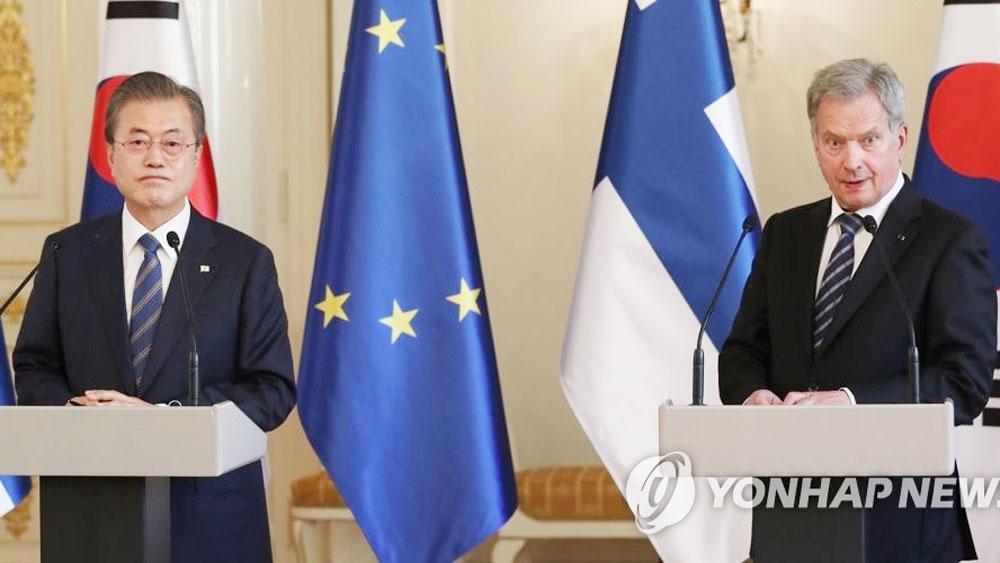 Tổng thống Hàn Quốc, kỳ vọng, nối lại đàm phán cấp cao với Triều Tiên, Tổng thống Hàn Quốc Moon Jae-in