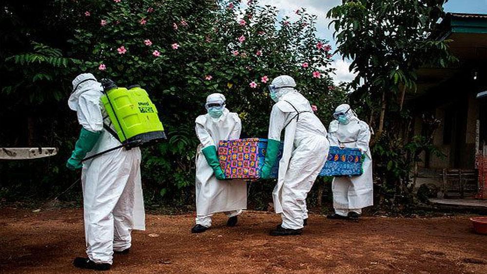 Uganda, xác nhận, trường hợp nhiễm Ebola đầu tiên, dịch ebola