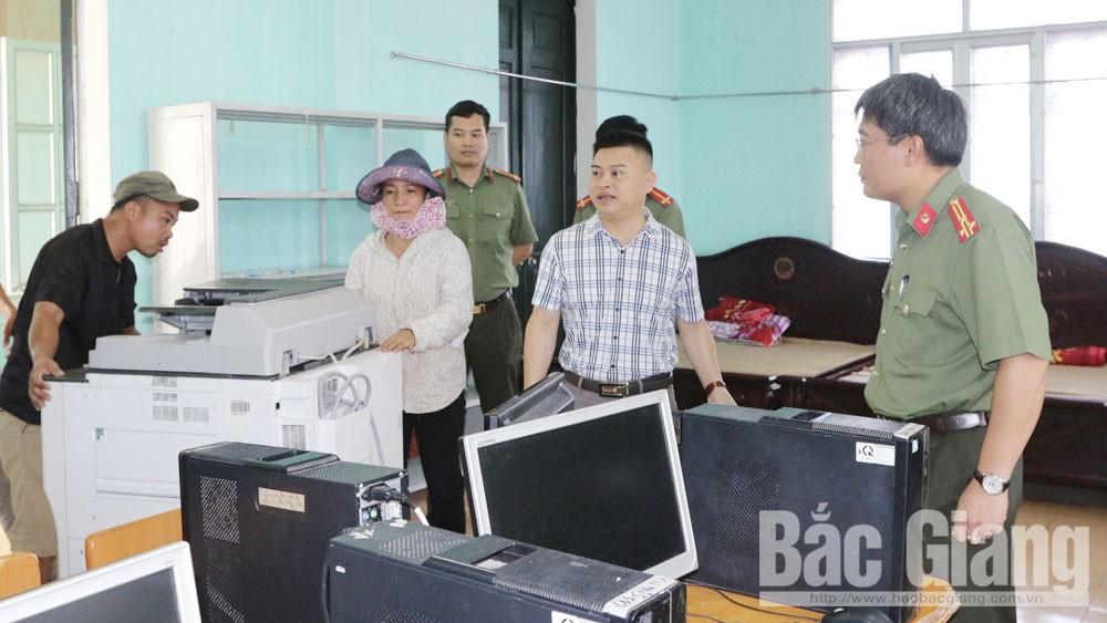 Bắc Giang, kỳ thi THPT quốc gia, an ninh trật tự, an toàn giao thông, bảo mật, khu vực thi,  gian lận, học sinh