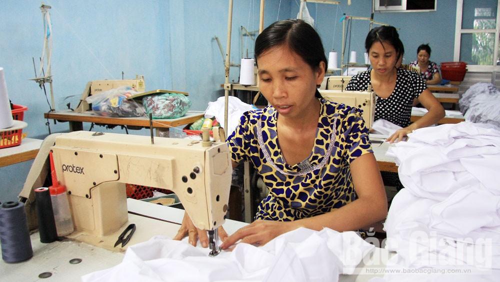 Bắc Giang, đào tạo nghề, liên kết, chuỗi liên kết, lao động nông thôn