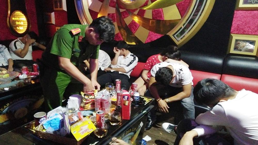 Đồng Nai, phát hiện, sử dụng ma túy trong quán karaoke, quán karaoke 162