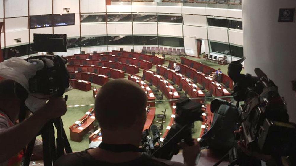 Cơ quan lập pháp Hong Kong, hoãn thảo luận dự luật dẫn độ, Hội đồng Lập pháp Hong Kong
