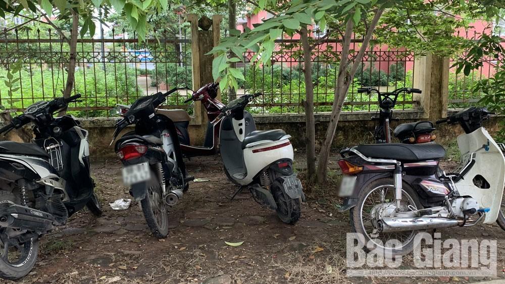 trôm cắp, xe máy, Bắc Giang, quần chúng, bảo vệ an ninh Tổ quốc.