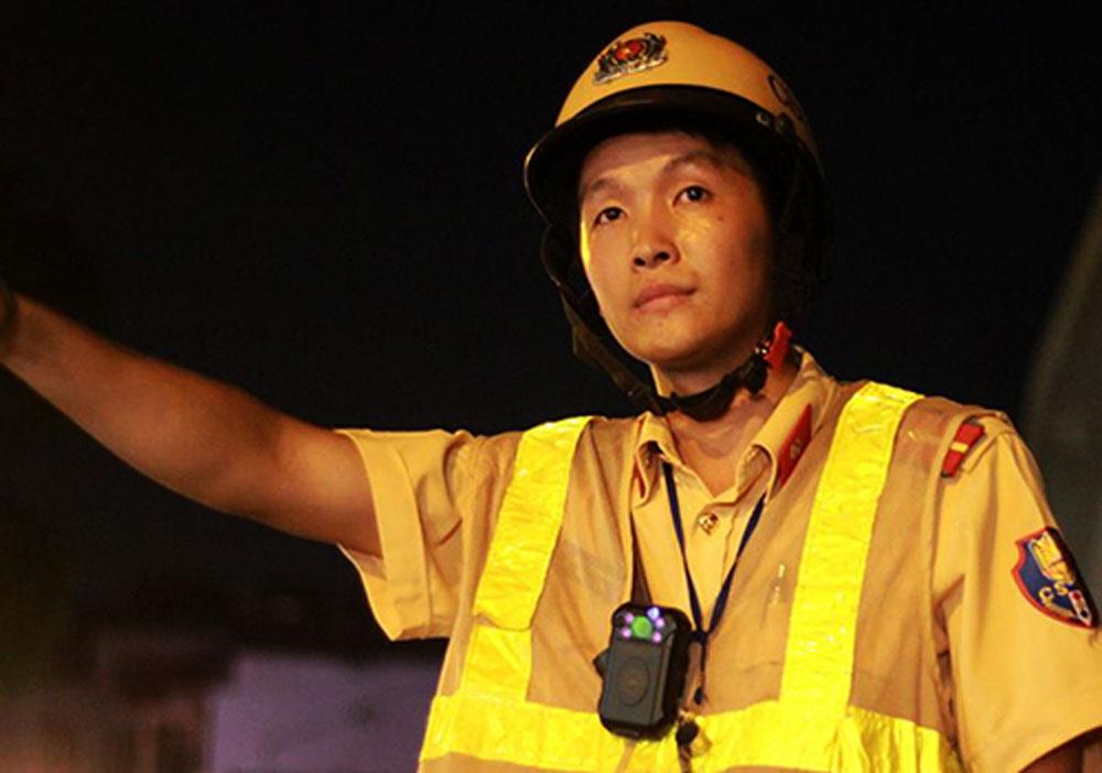 CSGT, trang bị camera gắn ngực, tuần tra, xử lý vi phạm
