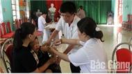 Hơn 17,4 nghìn trẻ được tiêm vắc xin sởi - rubella trong ngày đầu chiến dịch