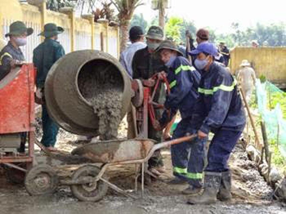 Máy trộn bê tông rò điện,thanh niên tử vong, TP Bắc Giang, tai nạn điện giật, Bắc Giang, Dĩnh Kế