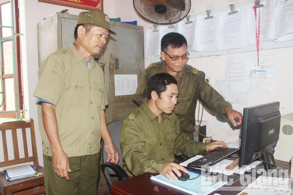 Bắc Giang, công an viên, an ninh trật tự, HĐND tỉnh Bắc Giang, bố trí, sắp xếp