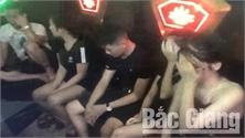 Bắc Giang: Phát hiện 10 đối tượng dương tính với ma túy tại nhà nghỉ- Karaoke Sao Đêm