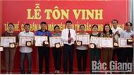 Bắc Giang: Tôn vinh 119 tập thể, cá nhân tiêu biểu trong phong trào hiến máu tình nguyện