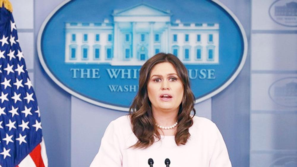 Thư ký báo chí Nhà Trắng, nghỉ việc, Sarah Sanders,  tranh cử thống đốc bang Arkansas