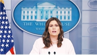 Thư ký báo chí Nhà Trắng nghỉ việc