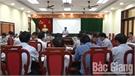 Huyện Lục Nam kiểm điểm tiến độ thực hiện dự toán thu ngân sách, đầu tư công