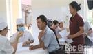Hội Chữ thập đỏ TP Bắc Giang phối hợp khám, chữa bệnh nhân đạo