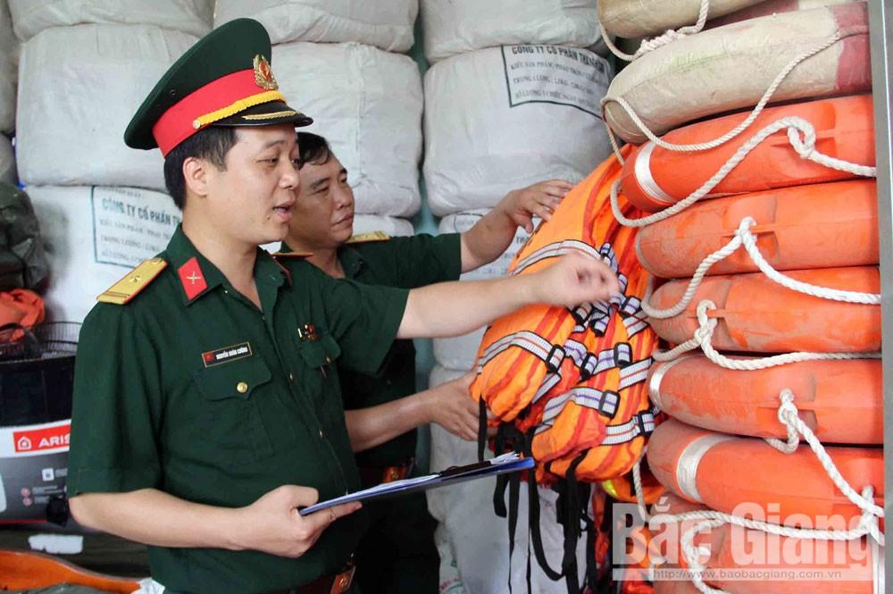 Bắc Giang, thiên tai, tìm kiếm cứu nạn, phòng chống thiên tai, ứng phó kịp thời
