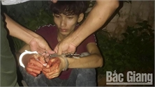 Quần chúng xã Hoàng Ninh (Việt Yên) bắt giữ đối tượng cướp tài sản