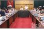 Đoàn công tác Học viện Chính trị Quốc gia Hồ Chí Minh làm việc với UBND tỉnh Bắc Giang