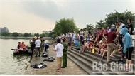Bắc Giang: Một thanh niên tử vong do đuối nước ở hồ Công viên Hoàng Hoa Thám
