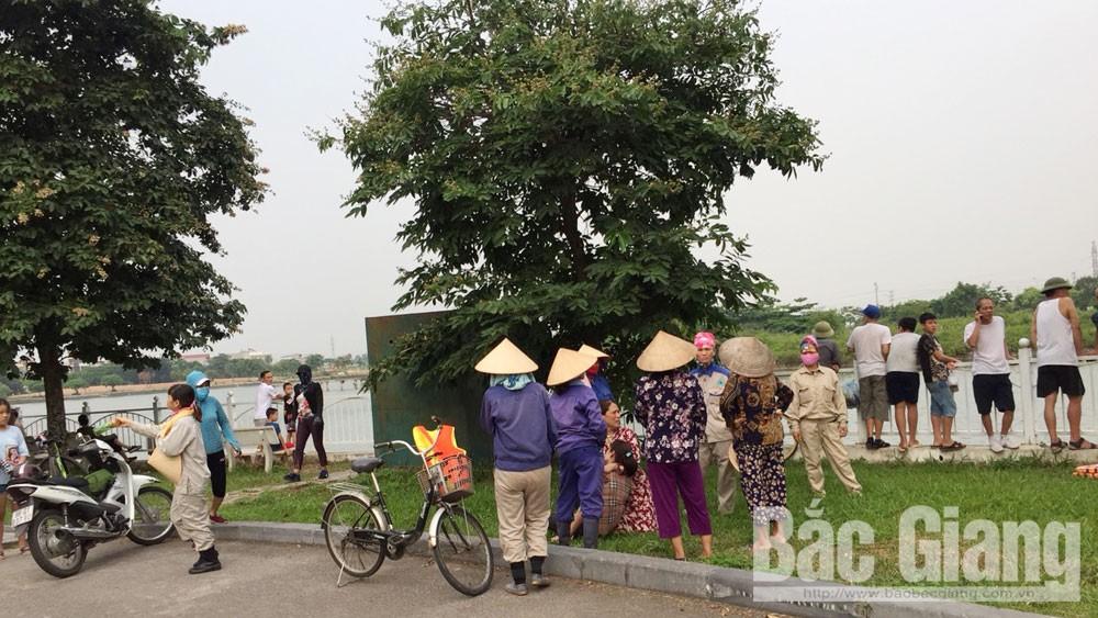 Đuối nước, tử vong do đuối nước, Công viên Hoàng Hoa Thám, Tỉnh Bắc Giang, Công an tỉnh Bắc Giang