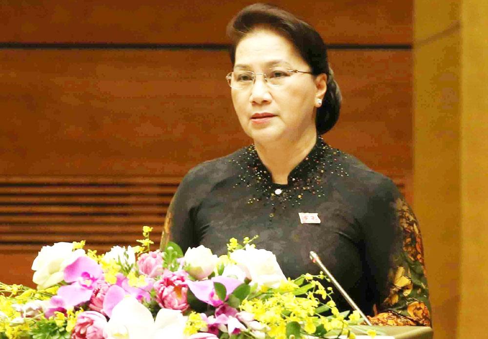 Kỳ họp thứ 7, Quốc hội khóa XIV, bảo đảm, thi hành các luật, nghị quyết, Quốc hội thông qua