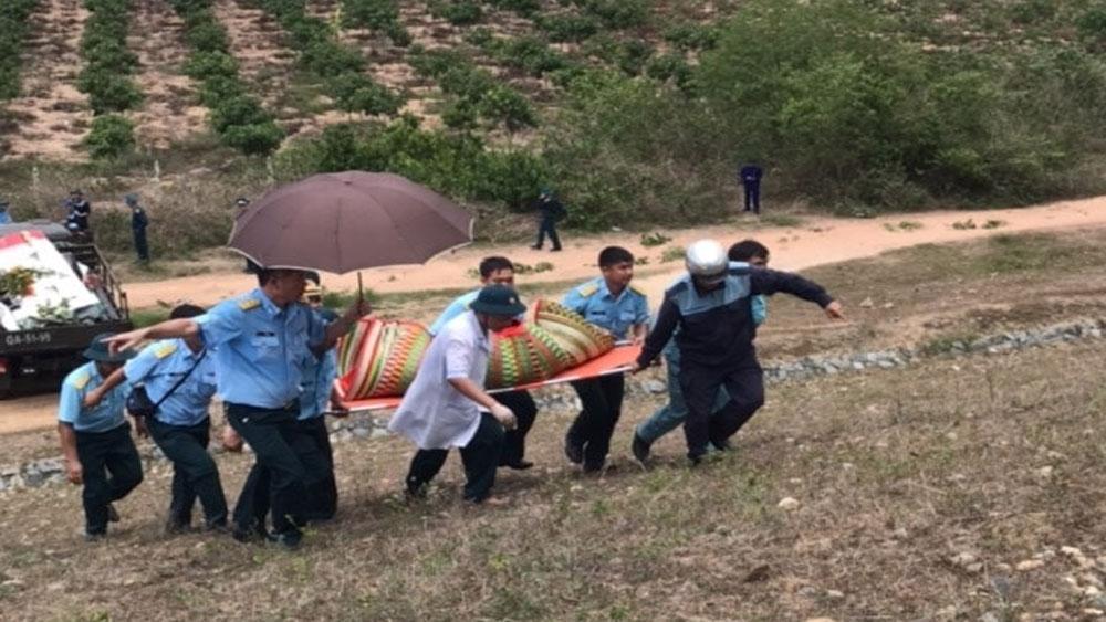 Máy bay quân sự rơi ở Khánh Hòa, đưa thi thể 2 sĩ quan tử nạn, Nhà tang lễ Quân y 87